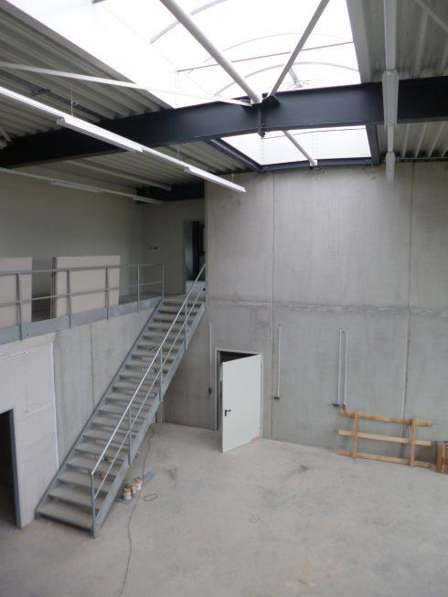 Schlosser- und Metallbauarbeiten-Treppe-SF-Bau