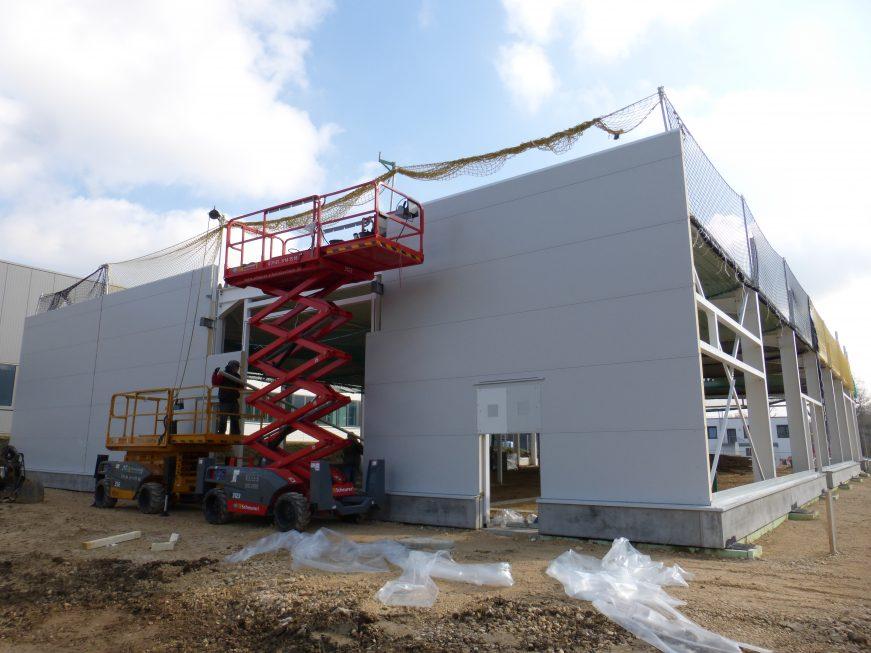 SF-Bau-Montage Isowand-Schlüsselfertigbau