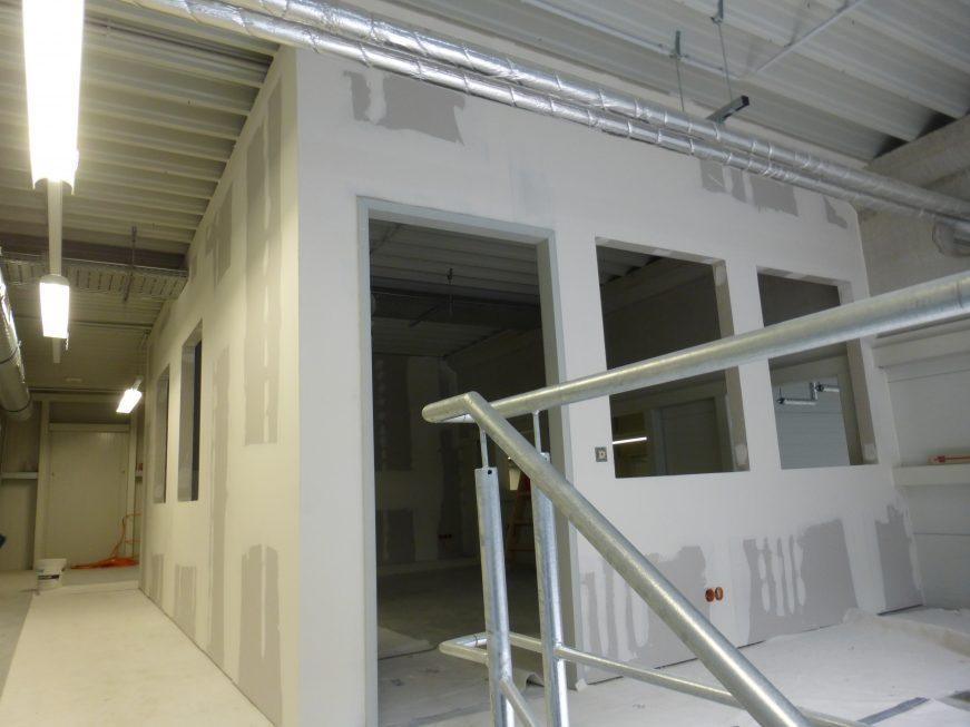 SF-Bau-Trockenbau Büro OG-Schlüsselfertigbau