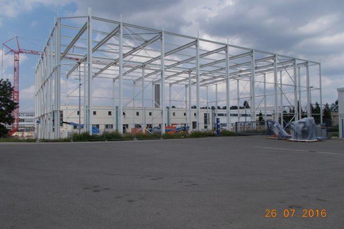 Stahlbau-Montage Stahlbau