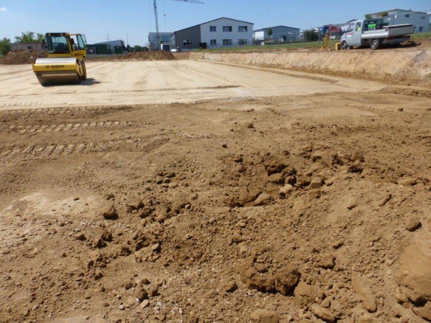 SF-Bau-Vorbereitung Baugrund-Schlüsselfertigbau