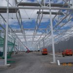 Stahlbau-Stahlbaumontage