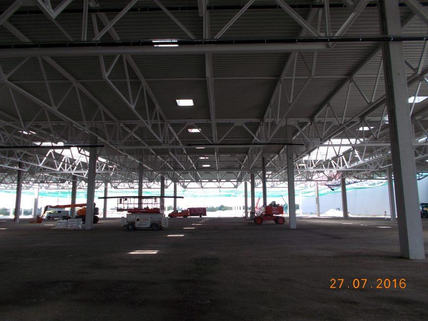 Stahlbau-der Stahlbau wächst