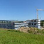 SF-Bau-Ansicht Halle mit Isowand-Hülle geschlossen-Schlüsselfertigbau