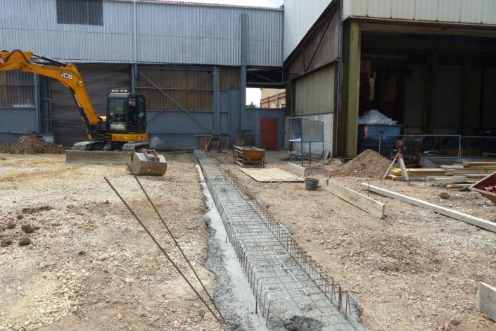 SF-Bau-Action auf dem Baufeld-Schlüsselfertigbau