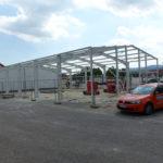 SF-Bau-Montage Stahlbau-Schlüsselfertigbau