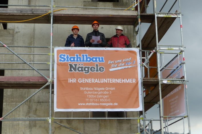 SF-Bau-Richtspruch-Richtfest in Donzdorf-Schlüsselfertigbau