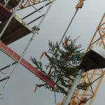SF-Bau-Richtbaum-Richtfest in Donzdorf-Schlüsselfertigbau
