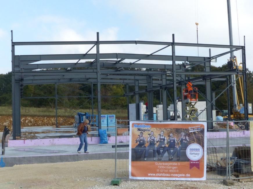 I-Bau-Fortschritt Stahlkonstruktion-Industriebau-Komplettbau