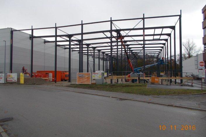 I-Bau-Montage Stahlkonstruktion-Industriebau-Komplettbau