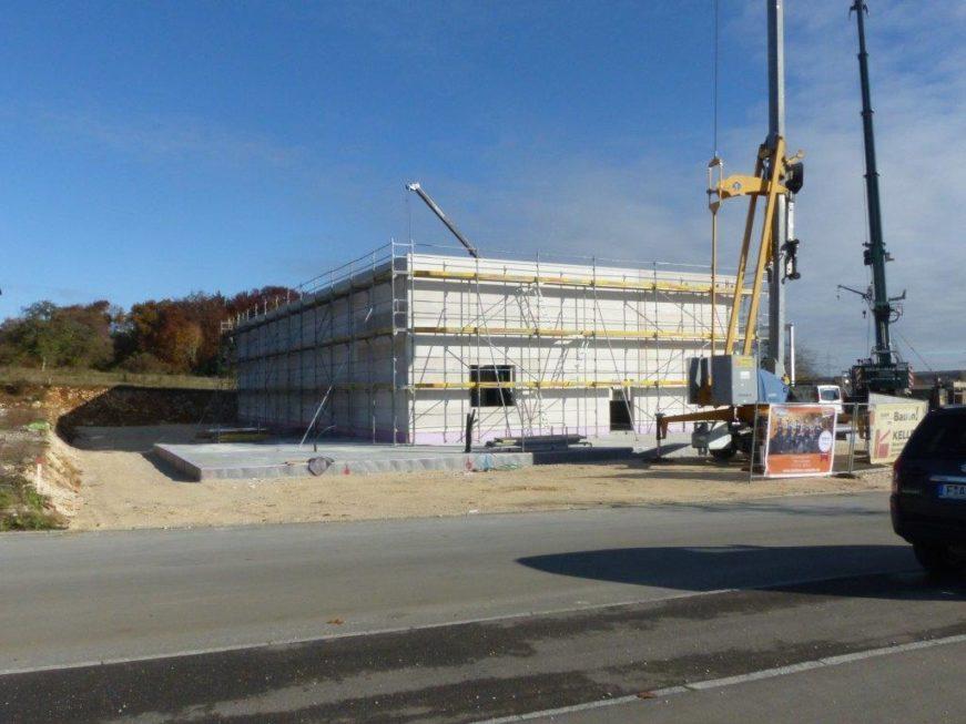 I-Bau-Anbringung Porenbetonwand-Industriebau-Komplettbau