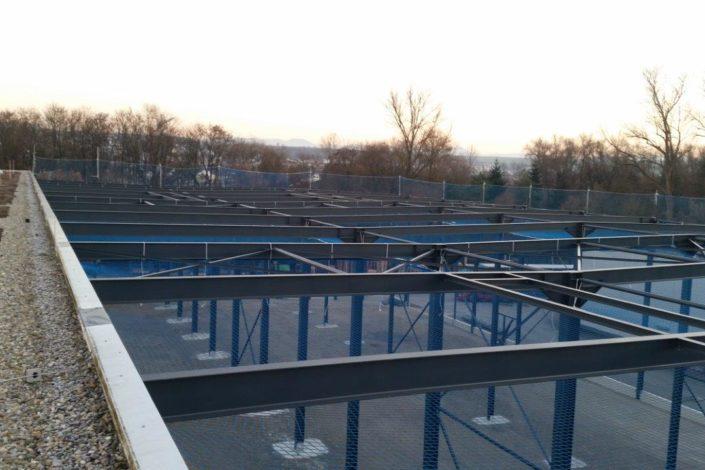 I-Bau-Sicherungsmaßnahmen fr Fassade an Produktionshalle-Industriebau-Komplettbau-Unterensingen