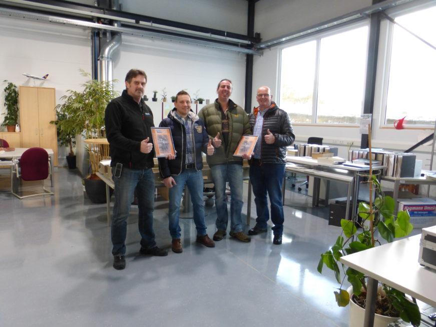 I-Bau-Abnahme und Urkundenübergabe Blaubeuren-Industriebau-Komplettbau