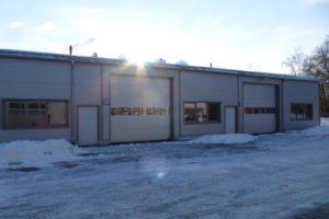 SF-Bau-Einbau Fenster Stahltüren-Sektionaltore-Kuntze Süssen-Stahlbau-Schlüsselfertigbau