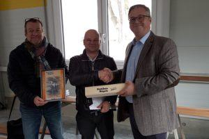 SF-Bau-Abnahme und Urkundenübergabe-Neubau Zustellstützpunkt Süssen-Schlüsselfertigbau