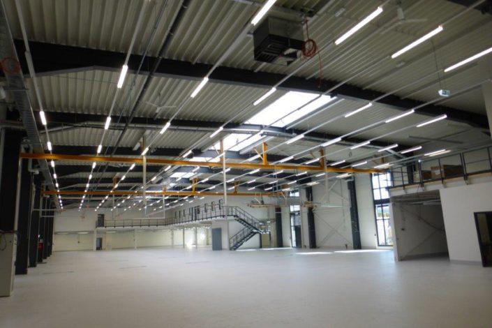 SF-Bau-Innenbereich Halle-Stahlbau-Leutenbach-Schlüsselfertigbau