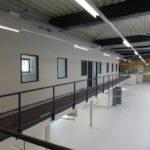 SF-Bau-Innenbereich Bühne-Stahlbau-Leutenbach-Schlüsselfertigbau