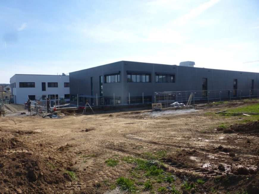 SF-Bau-Außenansichten-Leutenbach-Stahlbau-Schlüsselfertigbau