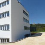 I-Bau-Treppenturm-Unterensingen-Erweiterung Logistik- und Produktionshalle-Stahlbau-Komplettbau-Industriebau