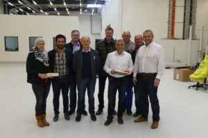 SF-Bau-Abnahme und Urkundenübergabe-Leutenbach-Stahlbau-Schlüsselfertigbau