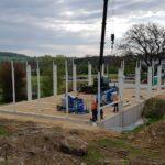 SF-Bau-Stellung Stahlbau-Jebenhausen-Neubau Lagerhalle-Stahlbau-Schlüsselfertigbau