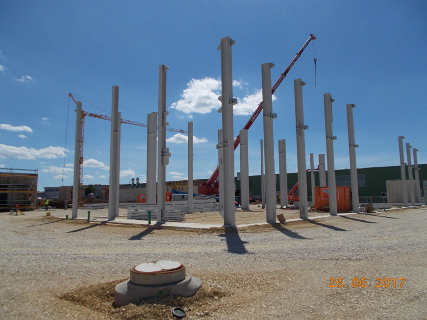 SF-Bau-Stellung Stahlbau-Hallenneubau-Merklingen-Stahlbau
