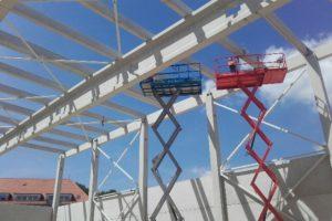 Stahlbau-Montage Verbände-Ulm