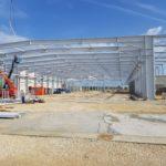 SF-Bau-Stellung Hallenkonstruktion-Merklingen-Hallenneubau-Stahlbau-Schlüsselfertigbau