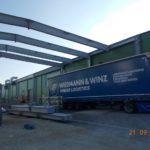 SF-Bau-Montage Überdachung-Hallenneubau-Merklingen-Stahlbau-Schlüsselfertigbau