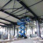SF-Bau-Innenausbau-Neubau Produktionshalle mit Büro- und Sozialgebäude-Türkheim-Stahlbau-Schlüsselfertigbau