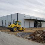 SF-Bau-Außenanlage-Neubau Produktionhalle mit Büro- und Sozialgebäude-Türkheim-Stahlbau-Schlüsselfertigbau