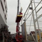 SF-Bau-Montage Isowand-Neubau Bürogebäude und Lagerhalle-Bonlanden-Stahlbau-Schlüsselfertigbau