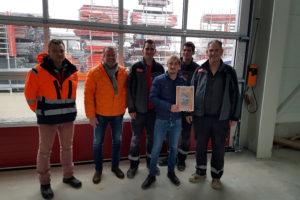 SF-Bau-Abnahme und Urkundenübergabe-Neubau Bürogebäude und Lagerhalle-Filderstadt-Bonlanden-Stahlbau-Schlüsselfertigbau