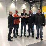 SF-Bau-Abnahme und Urkundenübergabe Türkheim-Neubau Produktionshalle mit Büro- und Sozialgebäude-Stahlbau-Schlüsselfertigbau