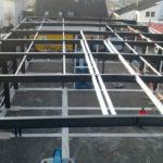 SF-Bau-Stellung Stahlbau-Remshalden-Neubau Autohaus mit Werkstatt und Ausstellungshalle-Stahlbau-Schlüsselfertigbau