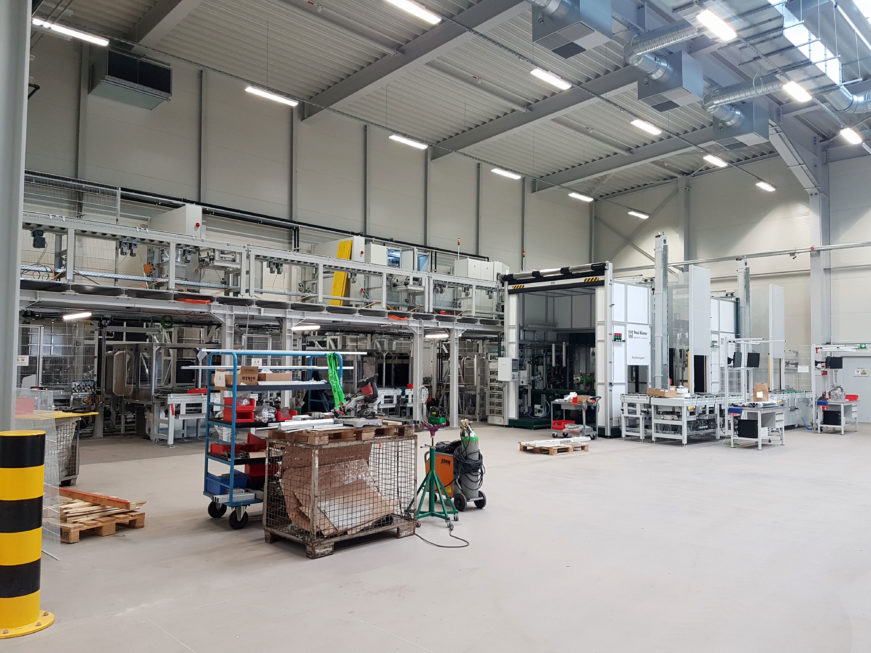 SF-Bau-Abnahme undUrkundenübergabe-Hallenneubau-Merklingen-Stahlbau-Schlüsselfertigbau