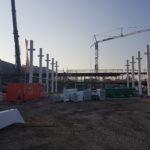 I-Bau-Montagestart-Neubau Montagehalle mit Bürogebäude-Salach-Stahlbau-Komplettbau-Industriebau