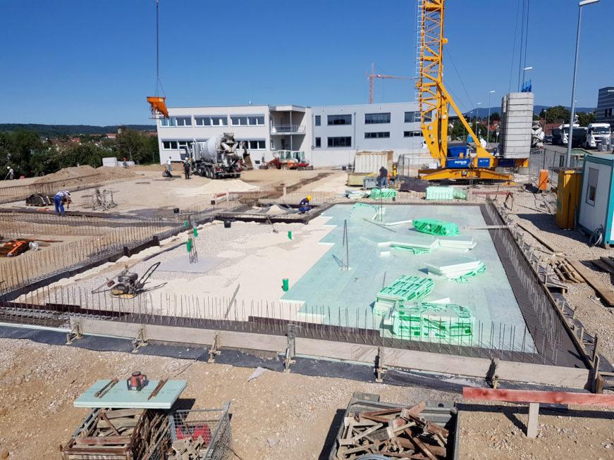 SF-Bau-Rohbauarbeiten-Neubau Produktionshalle mit Büro- und Sozialräumen-Kirchheim-Stahlbau-Schlüsselfertigbau