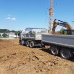 SF-Bau-Baubeginn Erdarbeiten-Anbau best. Halle Zell-Stahlbau-Schlüsselfertigbau