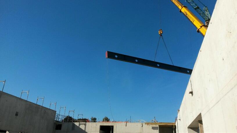 Stahlbau-Montagestart Stahlkonstruktion-Flagship Outlet Center-Metzingen