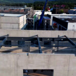 Stahlbau-Stahlbauarbeiten Dachkonstruktion-Flagship Outlet Center-Metzingen