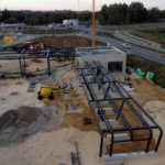 Stahlbau-Stahlbauarbeiten-Neubau Automatentankstelle-Wertingen