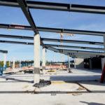 I-Bau-Übersicht Baustelle-Neubau Möbelhaus-Heilbronn-Stahlbau-Industriebau