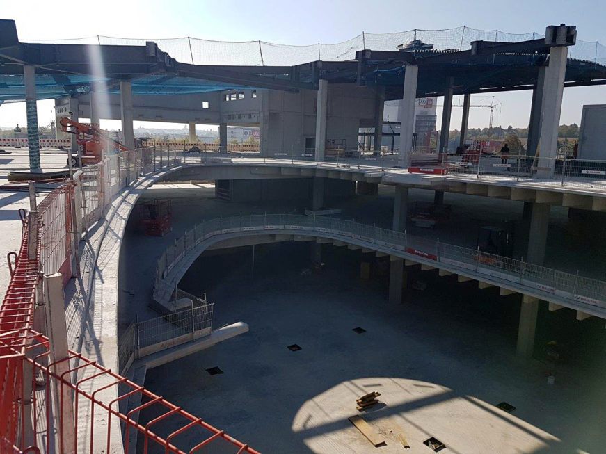 I-Bau-Stellung Stahlkonstruktion-Neubau Möbelhaus-Heilbronn-Stahlbau-Komplettbau-Industriebau