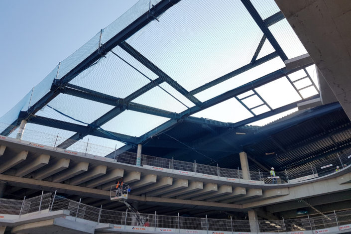 I-Bau-Fassadenunterkonstruktion-Neubau Möbelhaus-Heilbronn-Stahlbau-Komplettbau-Industriebau