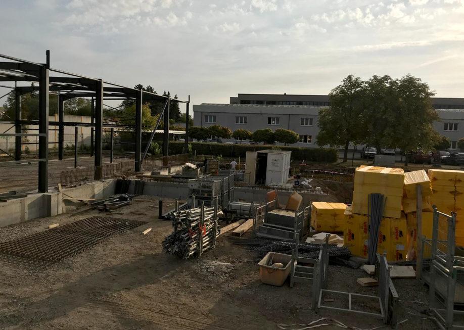 SF-Bau-Stahlbauarbeiten-Neubau Produktionshalle-Schkeuditz-Stahlbau-Schlüsselfertigbau
