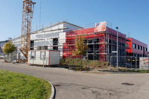 SF-Bau-Gebäudehülle-Anbau best Halle-Zell-Stahlbau-Schlüsselfertigbau