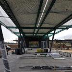 Stahlbau-Netze-Stahlkonstruktion-Neubau Automatentankstelle-Wertingen