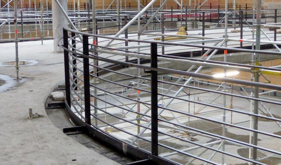 I-Bau-Stahlbauarbeiten-Unterkonstruktion Fassade-Schlosserarbeiten-Neubau Möbelhaus-Heilbronn-Stahlbau-Schlüsselfertigbau
