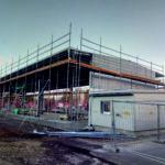 I-Bau-Stahltrapezblechfassade-Neubau Wareneingangshalle-Stahlbau-Komplettbau-Industriebau